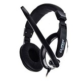 CLIPTEC Clear Beat [BMH699] - Black - Headset Pc / Voip / Live Chat